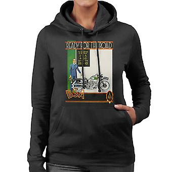 BSA Ready For The Road Women's Hooded Sweatshirt