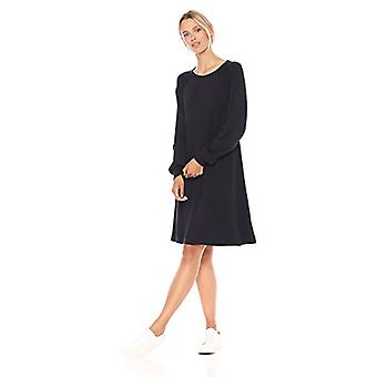 Brand - Daily Ritual Kvinnor's Supersoft Terry Avslappnad Sweatshirt Dress,...