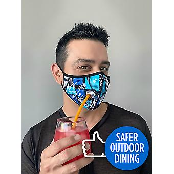 Andrew Christian mondkapje Safer Outdoor Shockwave Mask