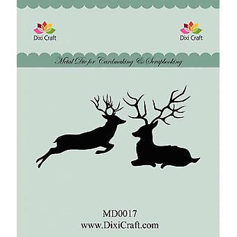 Dixi Craft Metal Dies Reindeer