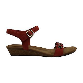 Koolaburra by UGG Women's Leira Heeled Sandal, Ember Glow, 11 B US