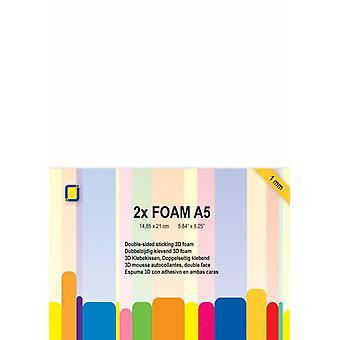 JEJE Produkt 3D Foam A5 1mm 2 Sheets