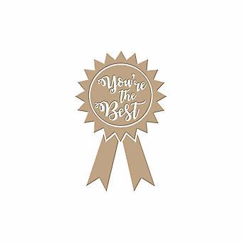Spellbinders You-apos;re la meilleure plaque de papier d'aluminium chaud