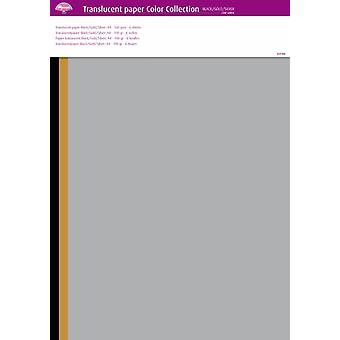 Pergamano Translucent Paper Color Collection A4 100 gsm