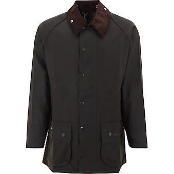 Barbour Mwx0002mwxol71 Men's Green Cotton Outerwear Jacket