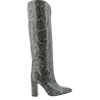 Paris Texas Px180xpmbbgrigio Women's Grey Leather Boots