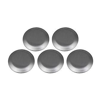 2.7cm Stainless Steel Faucet Kitchen Sink Hole Cover Set of 5