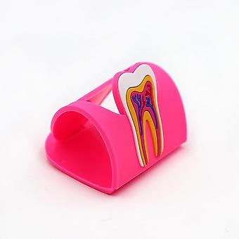 Dental Clinic Tooth Card Display Stand - Rubber Teeth Molar Shape Phone Card Name Storage