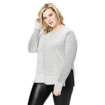 Brand - Daily Ritual Women's Plus Size Terry Cotton and Modal Pullover...