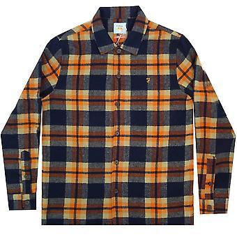Farah Shirts Drummond Check LS Overshirt