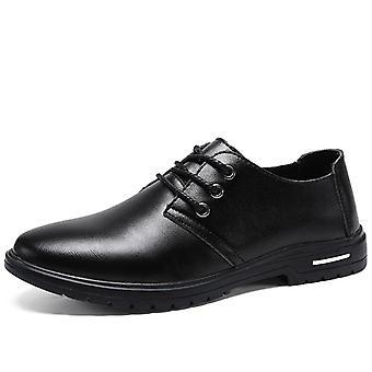 Mcikcara men&s sznurowane buty z prawdziwej skóry a7099