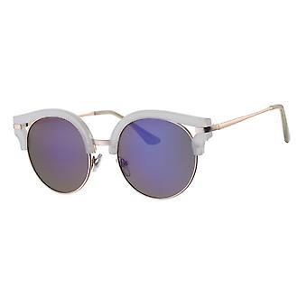Sunglasses Women's Femme Kat. 3 white/blue (L6582)