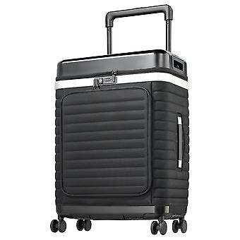 Pull Up Case Suitcase Trolley L, 4 ruote, 76 cm, 87 L, Nero
