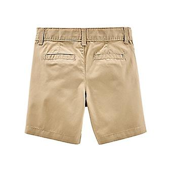Simple Joys by Carter's Baby Boys' Toddler 2-Pack Flat Front Shorts, Khaki, N...