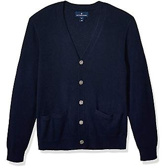 Brand - Buttoned Down Men's 100% Premium Cashmere Cardigan Sweater, Mi...