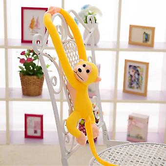 60/70cm Cute Long Arm Tail Monkey Soft Plush Doll Toy- Baby Sleeping Appease Monkey Home Decoration Curtains Hanging Doll 10color