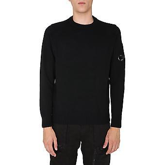 C.p. Compañía 09cmkn111a005504a999 Hombres's Suéter de lana negra