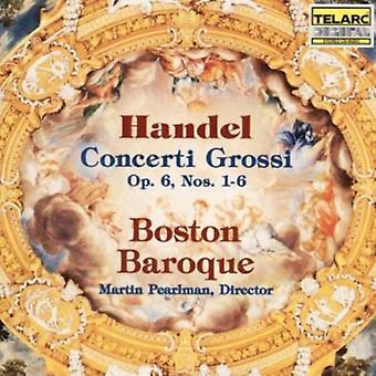 G.F. Handel - Handel: Concerti Grossi, Op. 6, Nos. 1-6 [CD] USA import