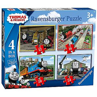Ravensburger Thomas & Friends 4 in a Box Jigsaw Puzzle