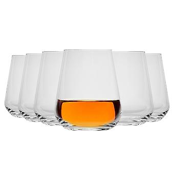 Bormioli Rocco Inalto Uno Stemless Wine Glasses Set - 450ml - Pachet de 24