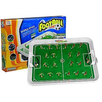 Mini bordfodbold legetøj sæt - magnet fodbold