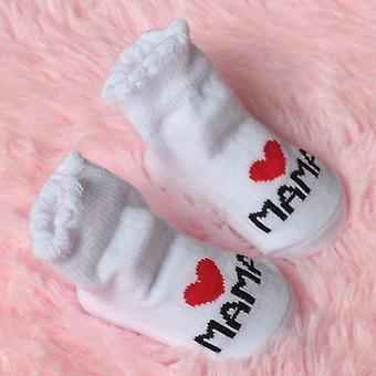 New Lovely Soft Baby Socks Newborn Toddler Infant Kids Girls Boys Stripe Cotton
