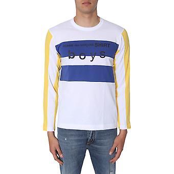 Comme Des Garçons Shirt S279311 Heren's Multicolor Katoen T-shirt