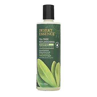 Desert Essence Tea Tree Replenishing Shampoo, 12.9 Oz