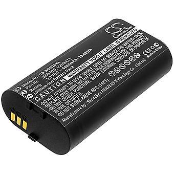 Battery for Sportdog 650-970 TEK-V2HBAT TEK 2.0 GPS handheld Dog Collar 6400mAh