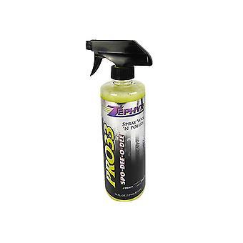 Zephyr car cleaning polish pro33 spray wax 'n' polish protective 473ml spray bottle