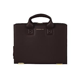 Farnsworth -guld Limited Edition- Läder Briefbag
