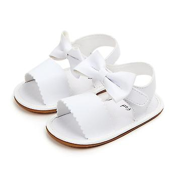 Cute Newborn Infant Baby Bowknot Princess Shoes, Toddler Summer Sandals