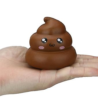 Fun Crazy Poop Shaped-slow Rising Stress Reliever Jouet