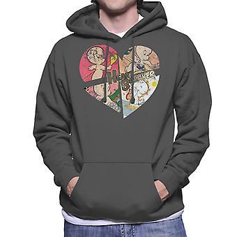 Casper The Friendly Ghost Heart Breaker Men's Hooded Sweatshirt
