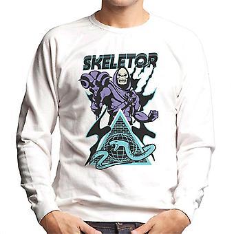 Masters Of The Universe Skeletor Snake Mountain Men's Sweatshirt