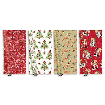 Anker Traditional Gift Wrap 8m Assorted     (40) XAHGW127