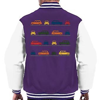 London Taxi Company TX4 Angled Colourful Montage Men's Varsity Jacket
