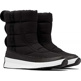 Sorel Women's Out N About Puffy Mid - Black