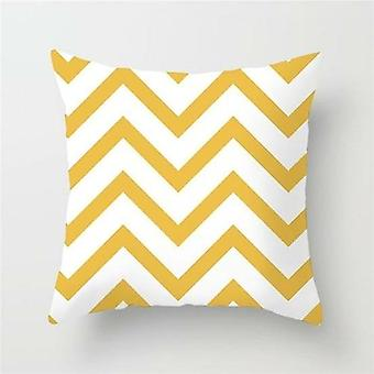 Cushion Cover Geometric Throw Pillow Case For Home