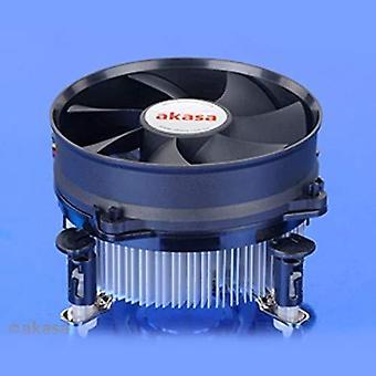 Akasa ak-cc7108ep01 heatsink and fan includes 92mm low noise pwm fan for socket 775/1155/1156/cpus u