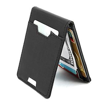 Luxury Slim Money Clip Bifold lompakko