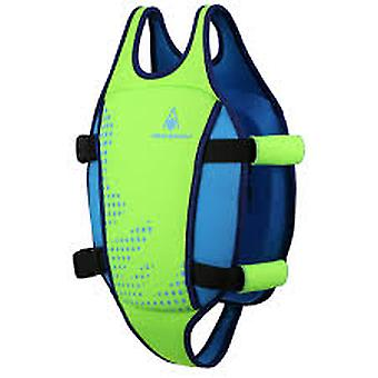 Aqua Sphere Michael Phelps Swim Method Swim Vest - Fluorescent Green/Light Blue