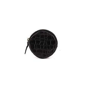 Le Discret (M) - Black - Croco Leather