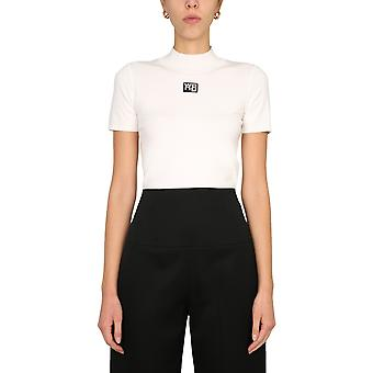 Alexander Wang.t 4kc2191008104 Women's White Viscose T-shirt