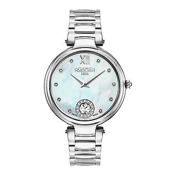 Roamer 600843 41 19 50 Aphrodite Mother Of Pearl Dial Wristwatch