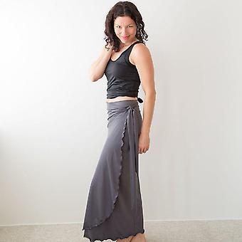 エブリウェア ロングラップスカート