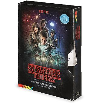 Stranger Things VHS A5 Notebook