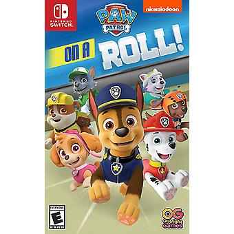 Paw Patrol On A Roll Nintendo Switch Game (#)