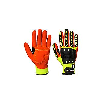 Portwest Anti Impact Grip Workwear Safety Gloves A721