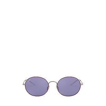 Ray-Ban RB3594 silver on top bordeaux unisex sunglasses
